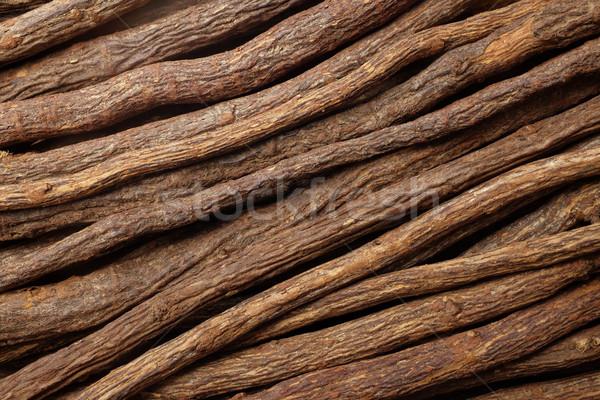Lukrecja korzeń przekątna sztuk streszczenie tekstury Zdjęcia stock © sarahdoow