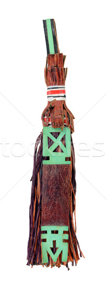 Traditional leather camel decoration, used by Tuaregs in Mali Stock photo © sarahdoow