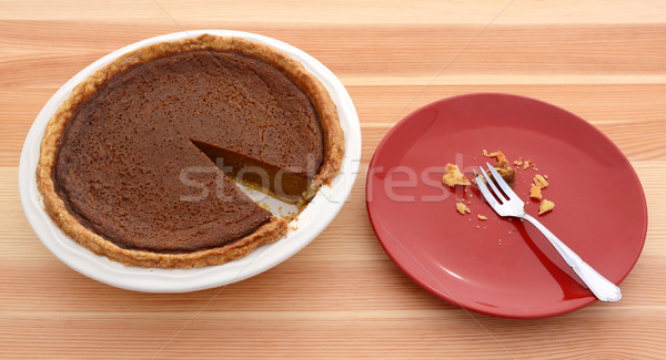 Pumpkin pie for Thanksgiving  Stock photo © sarahdoow