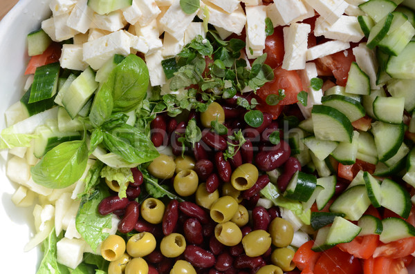 vegetable salad Stock photo © Sarkao