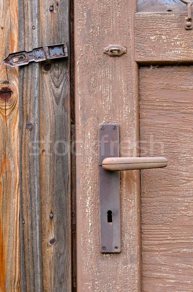 door handle Stock photo © Sarkao