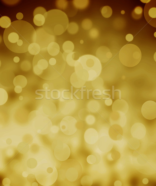 golden bokeh background Stock photo © Sarkao