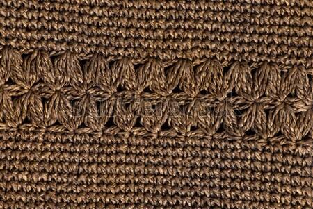 Crochê estrutura fundo ouro materialismo Foto stock © Sarkao