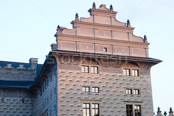 Schwarzenberg Palace, Prague Stock photo © Sarkao