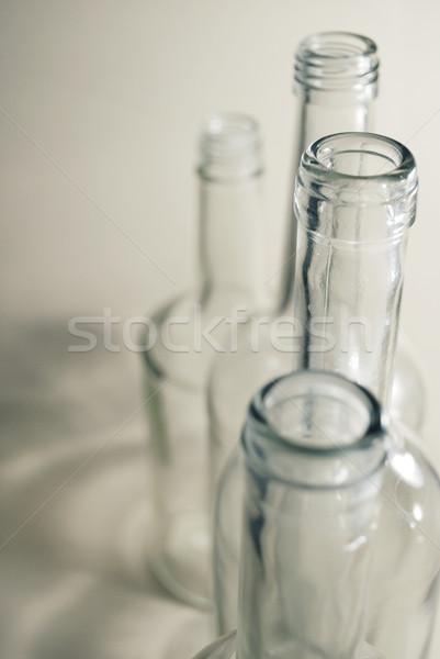стекла бутылок пить бутылку алкоголя материальных Сток-фото © Sarkao