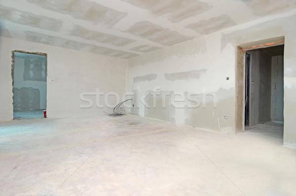 Casa reconstrução quarto branco vazio Foto stock © Sarkao