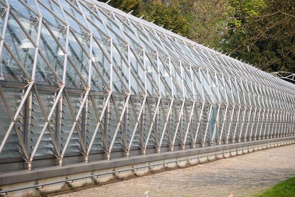 современных теплица дома зеленый архитектура Сток-фото © Sarkao