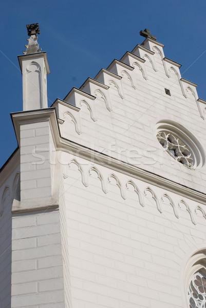 church in Teplice, Czech republic Stock photo © Sarkao