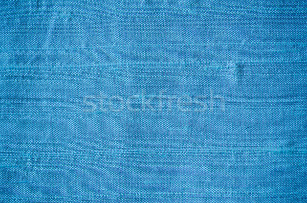 blue silk fabric Stock photo © Sarkao