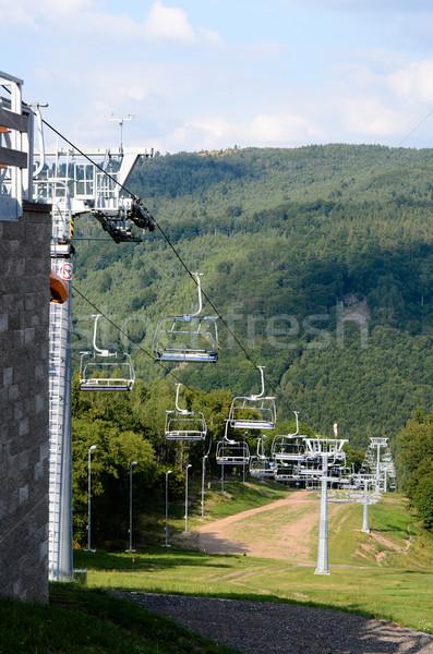 ski resort in the  summer Stock photo © Sarkao