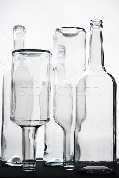 glass bottles Stock photo © Sarkao
