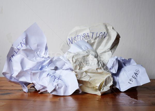 потеряли бизнеса работу документы плана Сток-фото © Sarkao