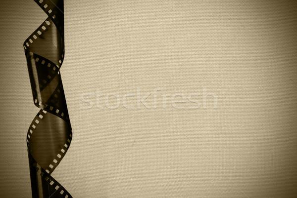 Klasszikus filmszalag képeslap film Stock fotó © Sarkao