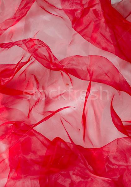 Piros háttér varr anyag Valentin nap Stock fotó © Sarkao