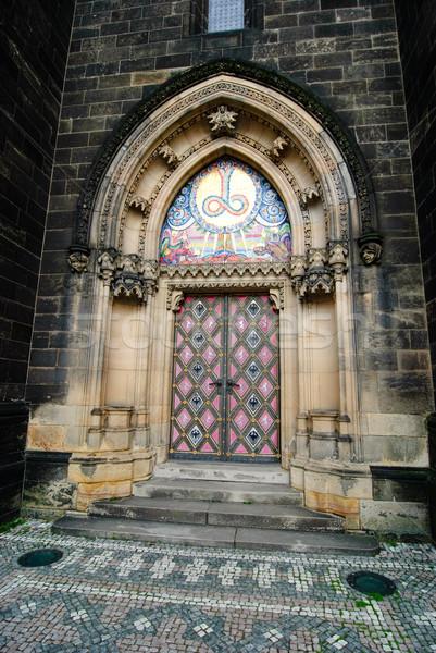 The Capitular Church of SS Peter & Paul, Prague Stock photo © Sarkao