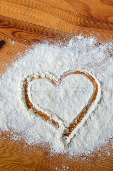 baking love concept Stock photo © Sarkao
