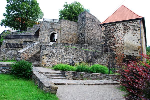 Castle Svojanov, Czech republic Stock photo © Sarkao