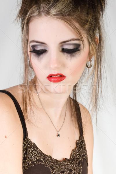 Beautiful sad woman Stock photo © Sarkao
