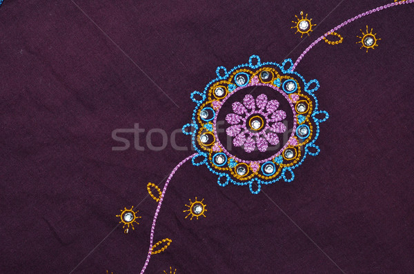 indian fabric detail Stock photo © Sarkao