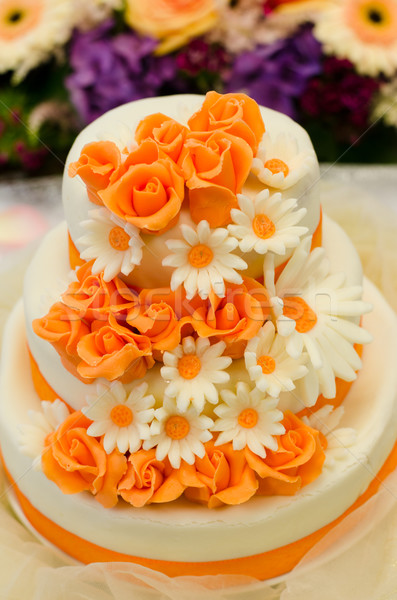 wedding cake Stock photo © Sarkao