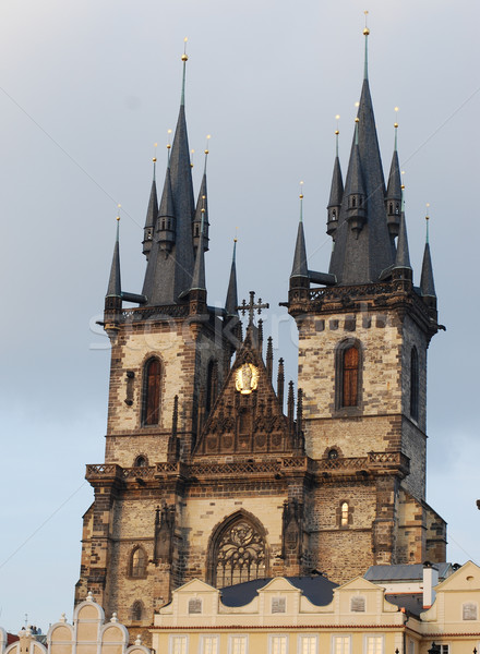 Church of lady before Tyn, Prague Stock photo © Sarkao