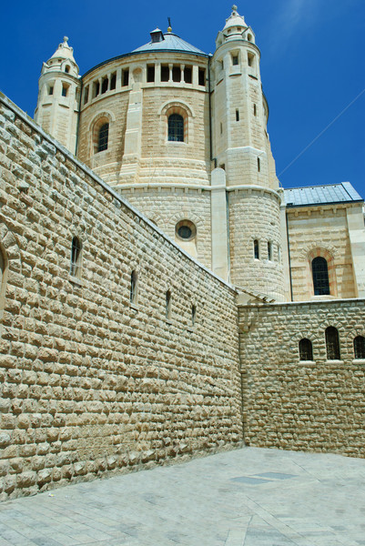 Church of the dormition, Jerusalem Stock photo © Sarkao