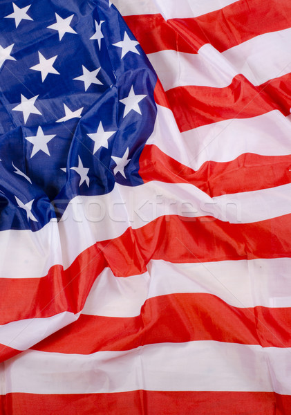 USA flag detail Stock photo © Sarkao