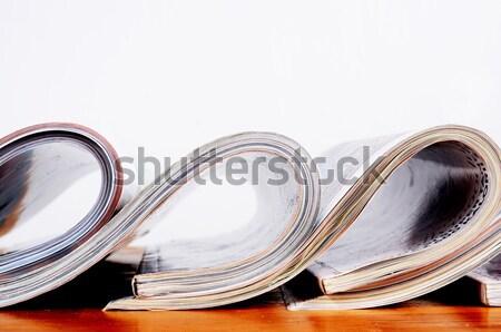журналы Новости таблице печать жизни Сток-фото © Sarkao