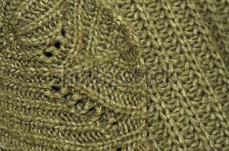 свитер структуры подробность фон одежды шаблон Сток-фото © Sarkao