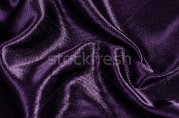 Purple шелковые атласных текстуры фон ткань Сток-фото © Sarkao