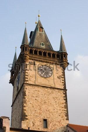 Old town hall, Prague Stock photo © Sarkao
