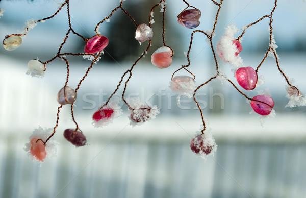 beaded necklace Stock photo © Sarkao