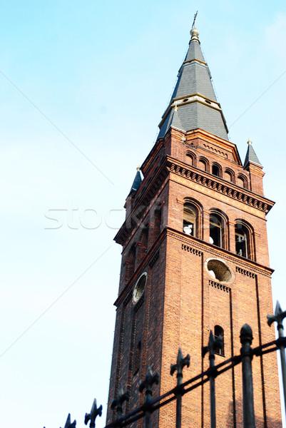 Церкви Чешская республика Европа башни Сток-фото © Sarkao