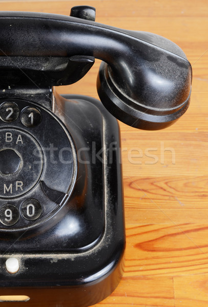 antique phone Stock photo © Sarkao