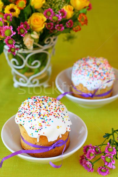 easter cakes Stock photo © sarsmis