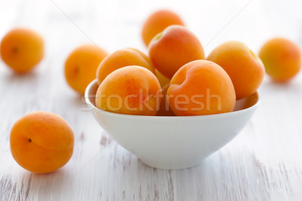 Fraîches alimentaire fruits été blanche régime alimentaire Photo stock © sarsmis