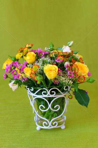bouquet of flowers Stock photo © sarsmis