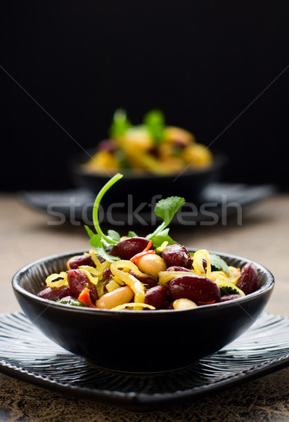 bean salad Stock photo © sarsmis