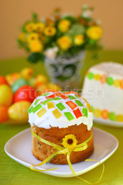 Traditional easter cake Stock photo © sarsmis