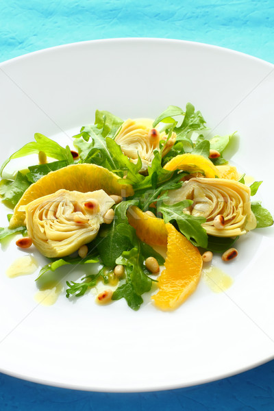 Artichoke salad Stock photo © sarsmis