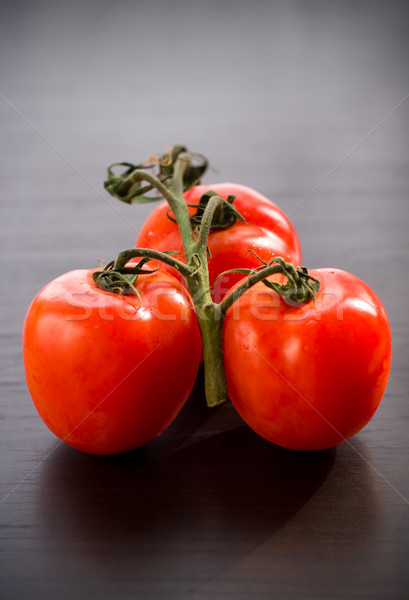 Vers tomaten tomaat tak tabel zomer Stockfoto © sarsmis