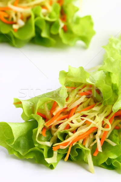 капустный салат свежие Салат здоровья растительное Сток-фото © sarsmis