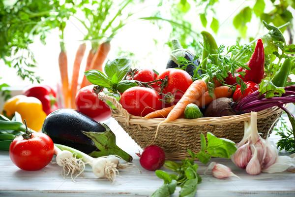 assorted vegetables Stock photo © sarsmis