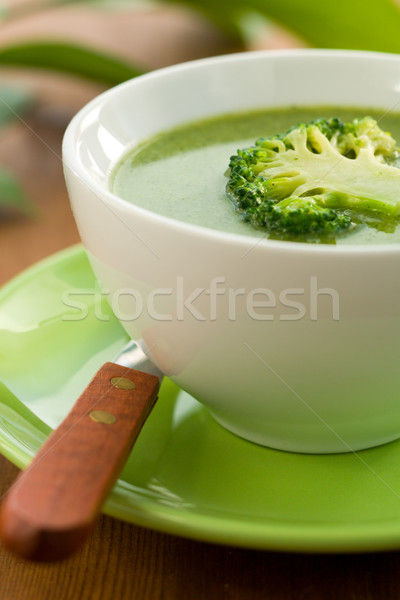 broccoli soup  Stock photo © sarsmis