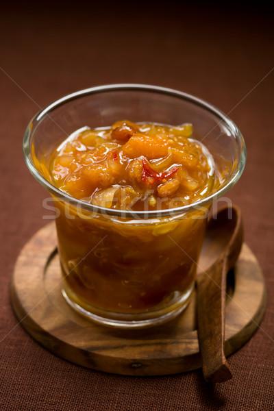 apricot chutney  Stock photo © sarsmis