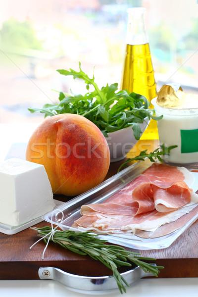 Ingredients for meal preparation Stock photo © sarsmis