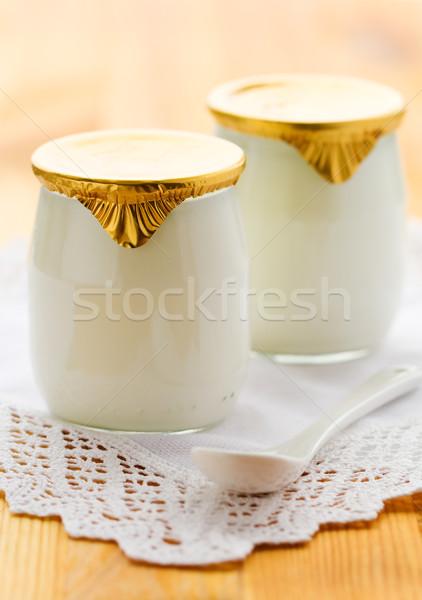 milk yogurt  Stock photo © sarsmis