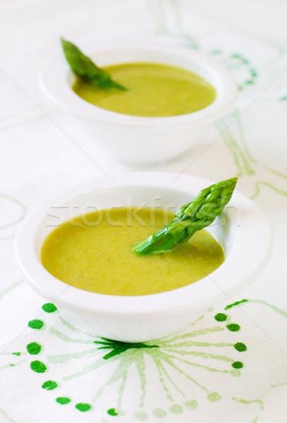 asparagus soup Stock photo © sarsmis