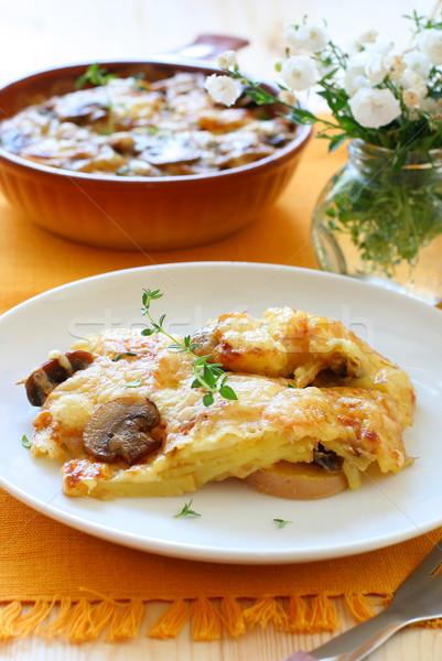 Patates mantar sebze Stok fotoğraf © sarsmis
