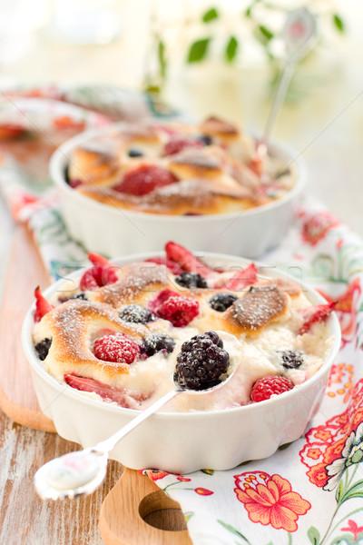 Frutas Berry fresa frambuesa arándano Foto stock © sarsmis